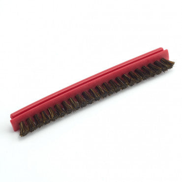 Riccar B012-3200 Red and Gold Natural Bristle 10 mm Brush Strip Vibrance