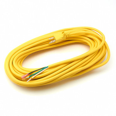 CleanMax CMPS-50C 50-ft 17/3 Power Cord, Yellow