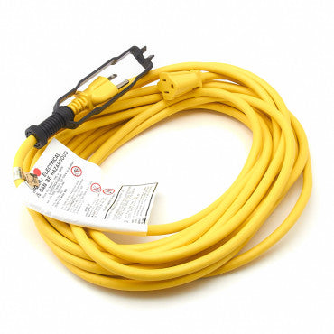 CleanMax CMPS-EXT30 30-ft Extension Cord, Yellow