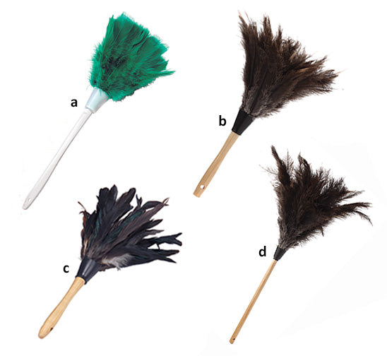 Lambskin Ostrich Feathers – 12
