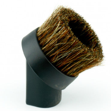 Natural Bristle Round Dusting Brush, 1.25