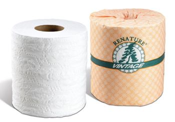 Renature 2-Ply Bath Tissue, 500 sheets, 96 Rolls