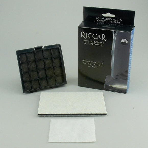 Riccar Brilliance Deluxe Upright HEPA Media Filter Set, RF30D