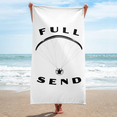 FULL SEND PARAMOTOR BEACH TOWEL