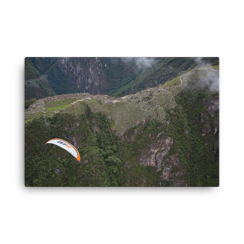 Canvas - Machu Picchu Fly-Over: Paramotor the Americas