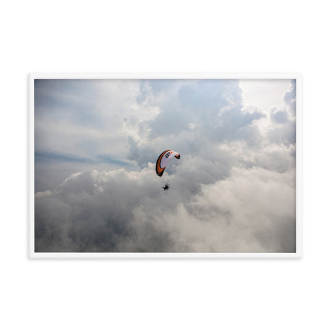 Framed Poster - To Heaven and Back: Paramotor the Americas