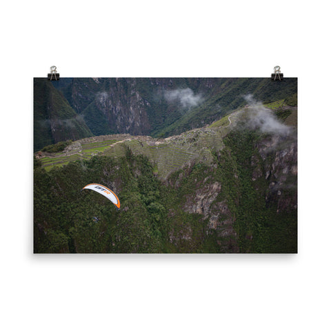 Poster Paper - Machu Picchu Fly-Over: Paramotor the Americas
