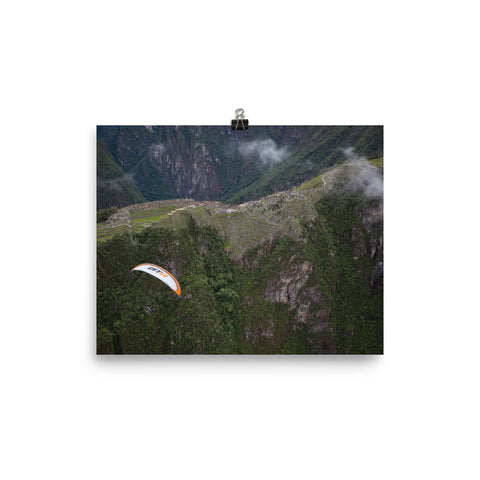 Poster Paper - Machu Picchu Fly-Over: Paramotor the Americas - [Paramotor the Americas]