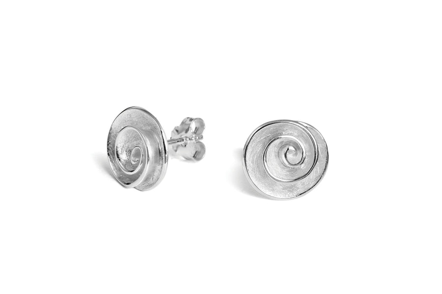Solid Swirl Earrings
