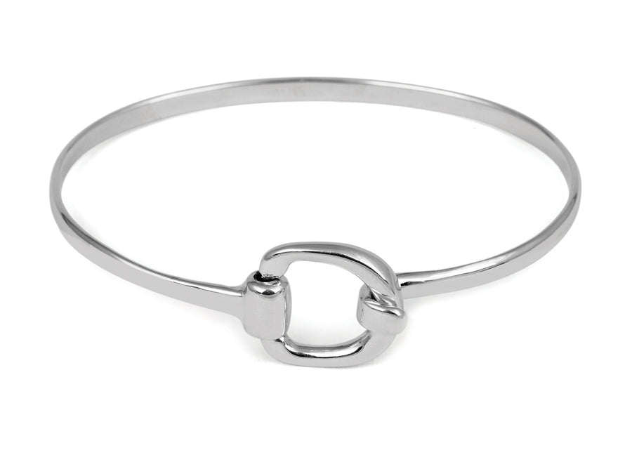 Large Snaffle Bangle
