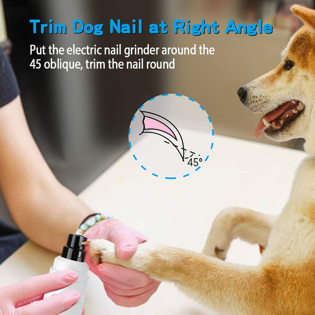 Dog Nail Grinder Upgraded