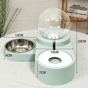 Cat & Dog Water & Food Feeder Bowl