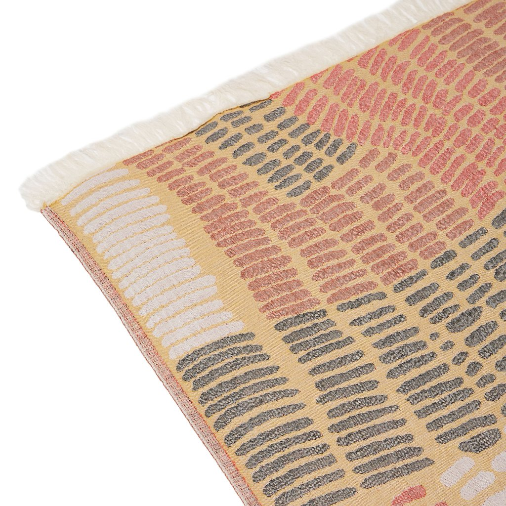 Mayde Friday Island Towel - Mustard