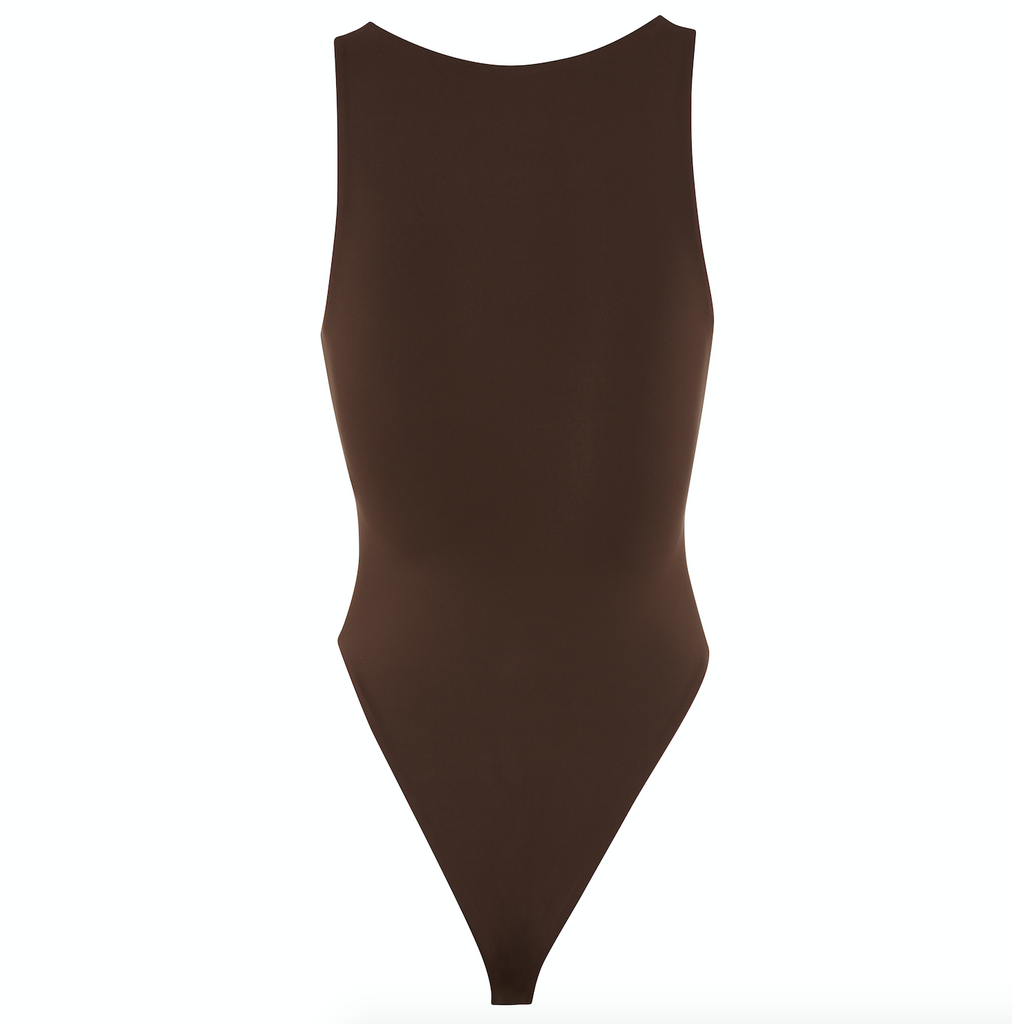 Chocolate Brown Full Coverage Swimsuit One Piece | Myraswim