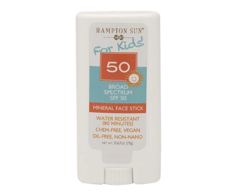 HAMPTON SUN - SPF 50 Mineral Face Stick for Kids