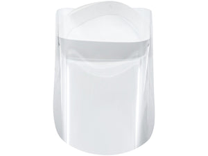 Adjustable Face Shield with Hinged Visor -WHITE- BEST SELLER!!
