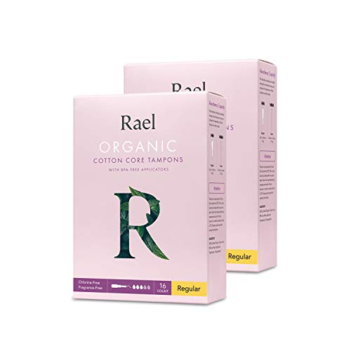 Rael Organic Cotton Unscented Tampons