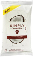 Simply Summer's Eve Cleansing Cloths Coconut Water