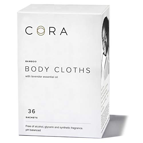 Cora Essential Oil Bamboo Feminine Wipes - 36 ct