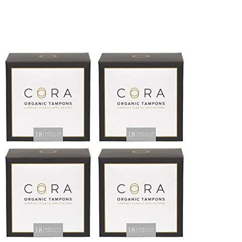 Cora Organic Cotton Tampons With BPA