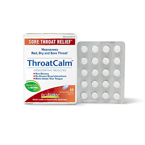 Boiron Throatcalm Tablets