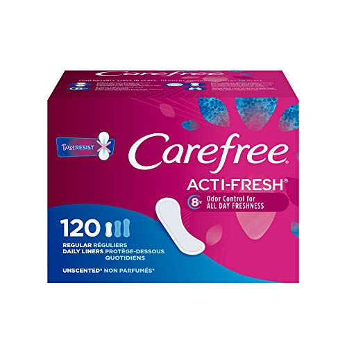 Carefree Acti-Fresh Panty Liners 120 Count