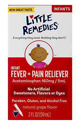 Little Remedies Infant Fever & Pain Reliever