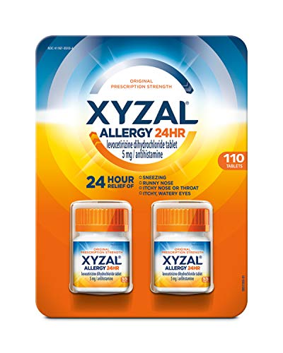 Xyzal Allergy Tablets Each 2 Bottles