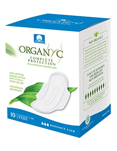 100% Certified Organic Cotton Feminine Pads