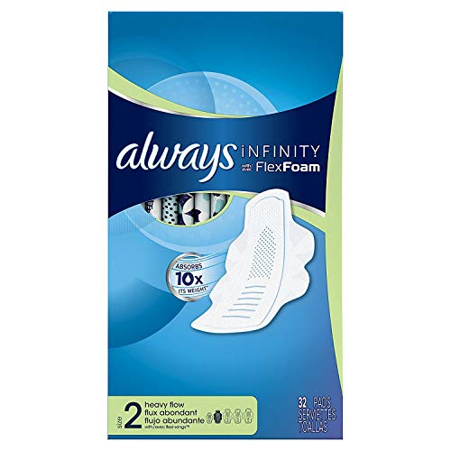 Always Infinity Sanitary Pads Women