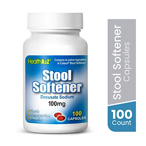 HealthA2Z® Stool Softener