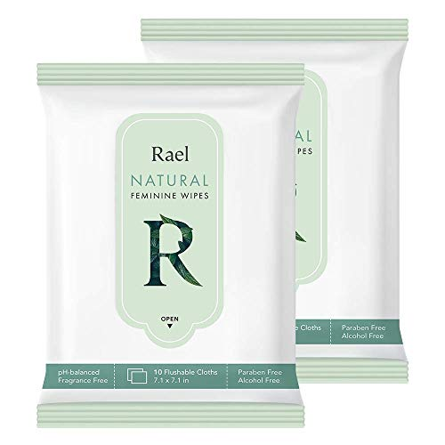 Rael Feminine Natural Ingredients Wipes