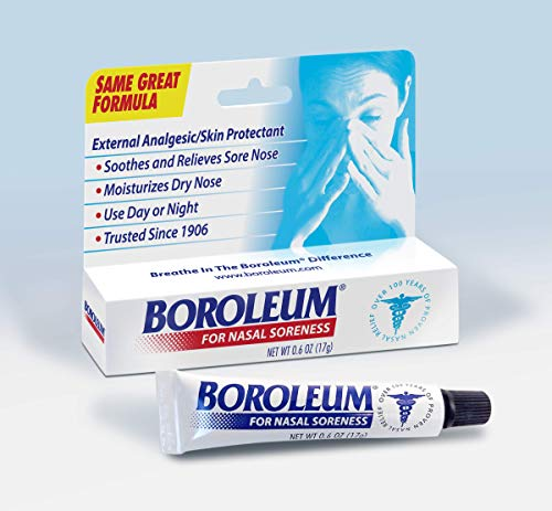Boroleum For Nasal Soreness