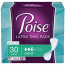 Poise Incontinence Light Absorbency Regular Pads