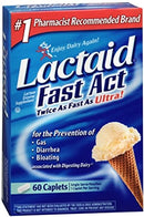 Lactaid Fast Act 60 Caplets
