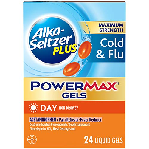 Alka-seltzer Plus Maximum Strength Max Gels - 24 Count