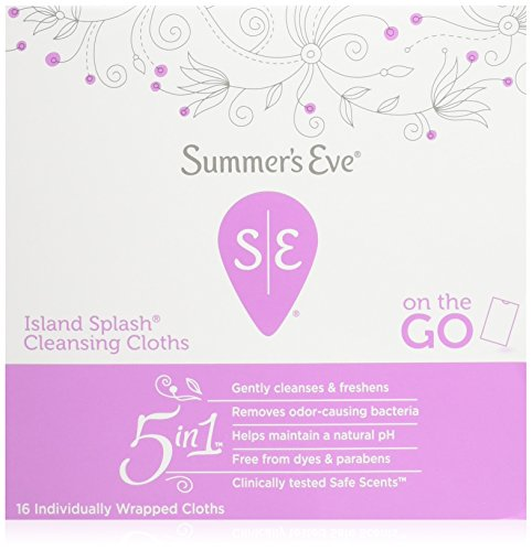 Summer's Eve Cleansing Cloths 16 Count