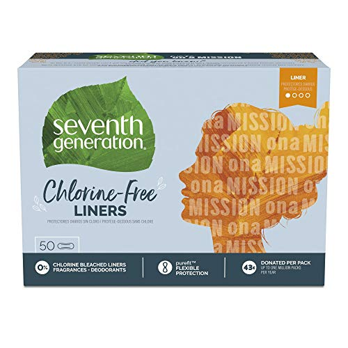Seventh Generation Pantiliners 50 Count
