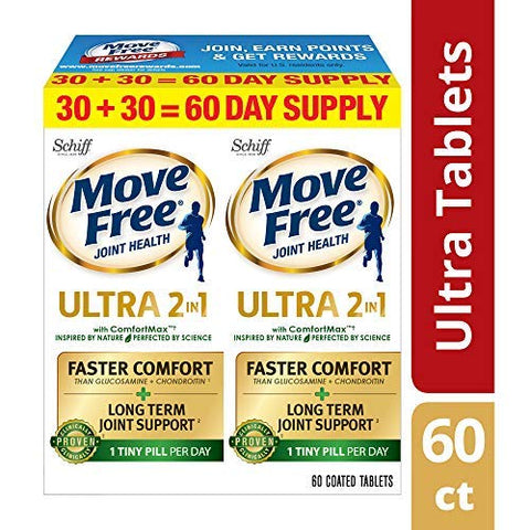 Calcium & Calcium Fructoborate Based Ultra Faster Comfort Joint Health Supplement Tablets, (60 count)