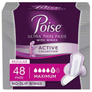 Poise Active Collection Incontinence Liners and Pads