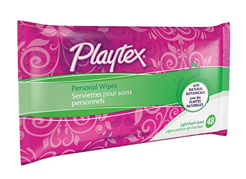 Playtex Personal Cleansing Cloths Refill Pack