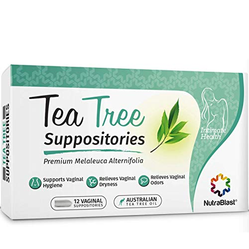 Nutrablast Tea Tree Oil Suppositories 12 Count