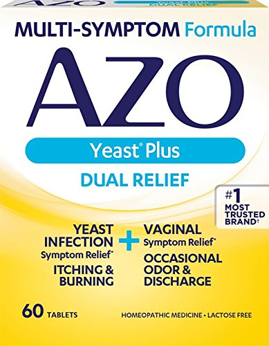 AZO Yeast Plus Dual Relief Homeopathic Medicine