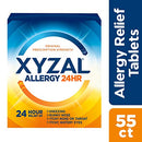 Xyzal Allergy Tablet 55 Count