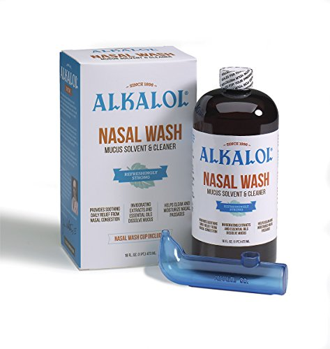Alkalol Natural Soothing Nasal Wash 16-OZ