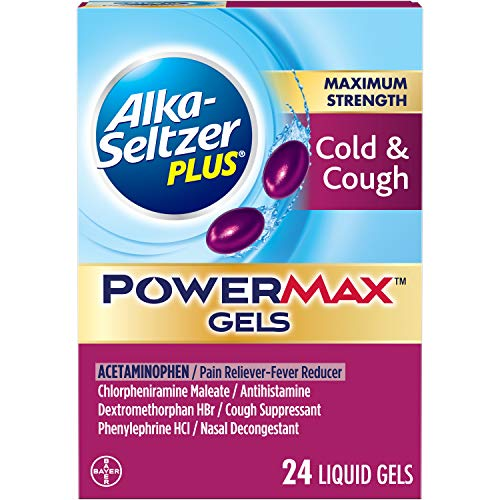 Alka-Seltzer Plus Maximum Strength PowerMax Gels