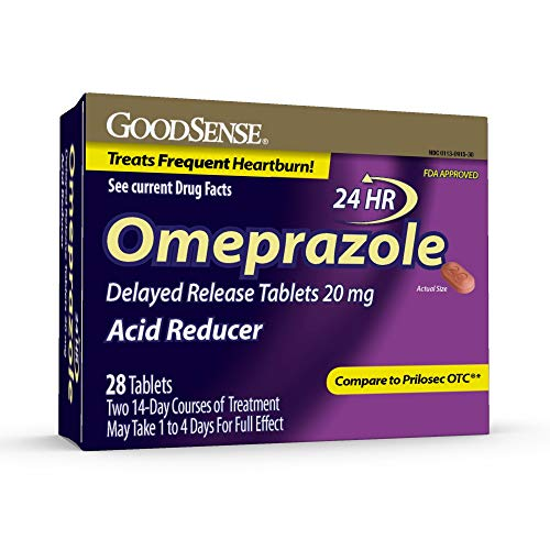 GoodSense Omeprazole Delayed Release Tablets