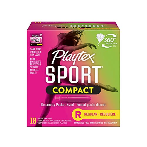 Playtex Sport Flex-Fit Technology Improved Applicator Tampons