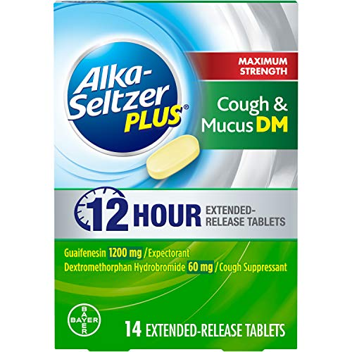 Alka-Seltzer Plus Strength Cough & Mucus DM