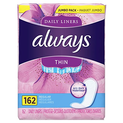 Always Thin Daily Wrapped Liners
